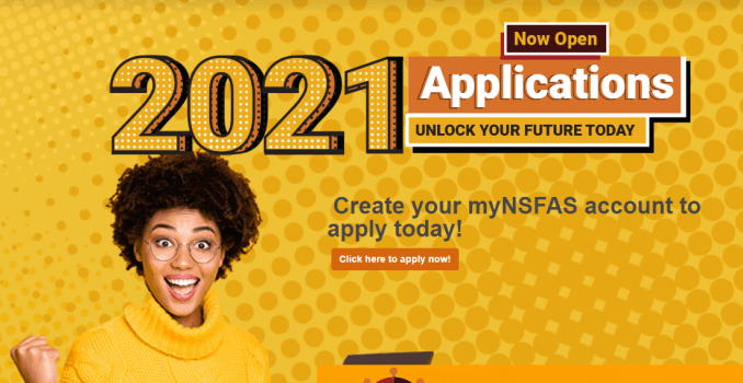 How to apply for financial support from NSFAS